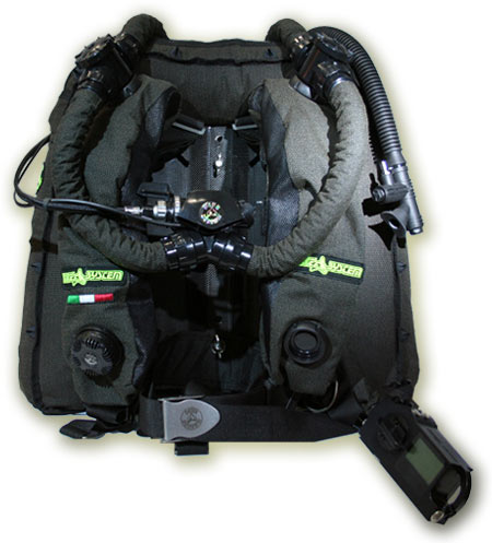 rebreather Poseidon Dive System