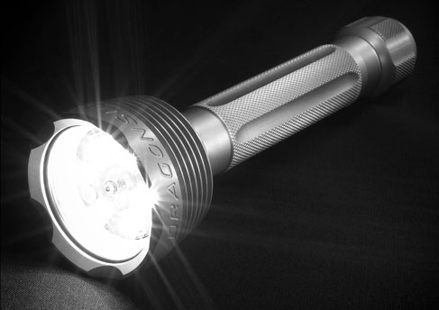 torcia per immersioni subacquee Videolux 6 Led