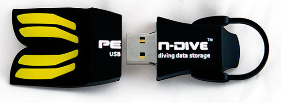 pen dive usb scuba