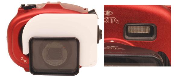 Custodia subacquea Isotta per Canon G9-G10-G11