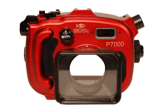 Custodia isotta per nikon p7000 articolo su scubaportal for Esterno orecchio rosso