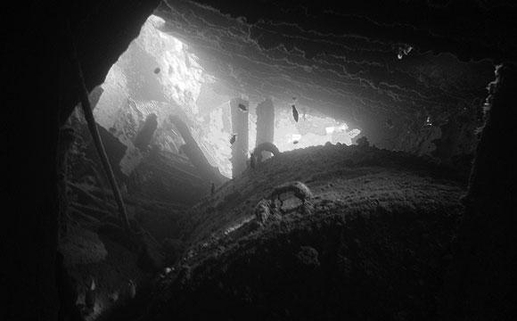 Un boiler del Dunraven