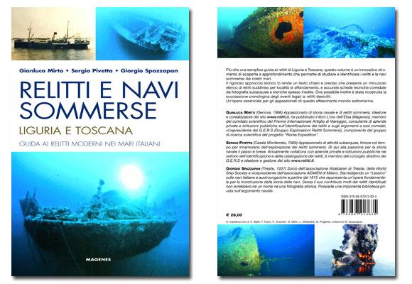 Libro di subacquea RELITTI E NAVI SOMMERSE