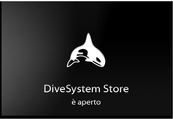 Il DiveSystem Store è aperto.