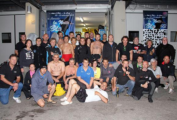 partecipanti notte blu