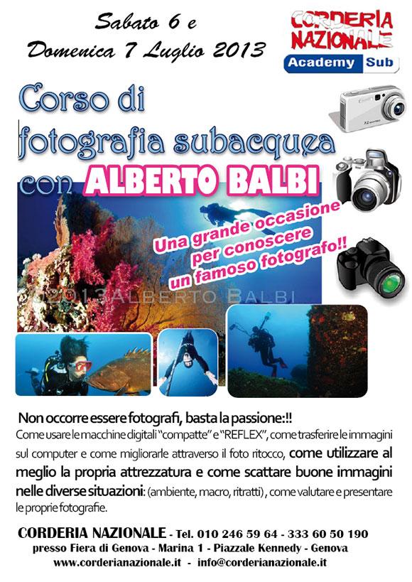 corso fotosub Balbi