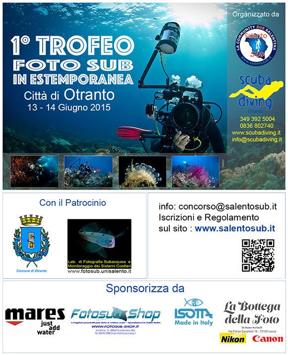 I° Trofeo Fotosub in Estemporanea Città di Otranto