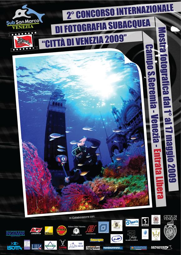 Concorso di fotografia subacquea Città di Venezia