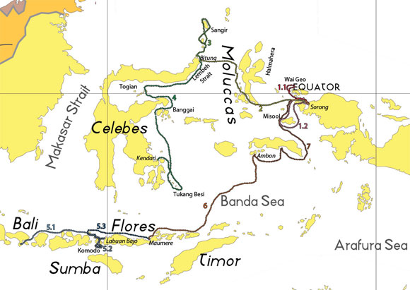 Mappa Indonesia