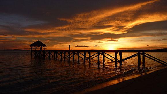 bangka tramonto