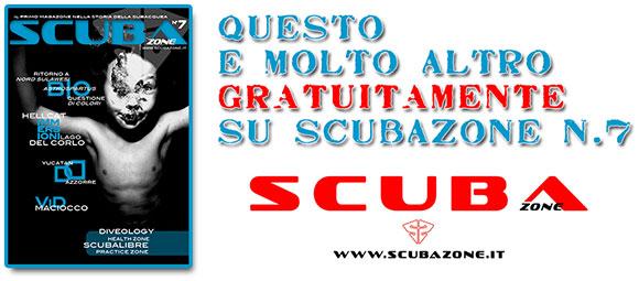 ScubaZone - magazine gratuito di subacquea