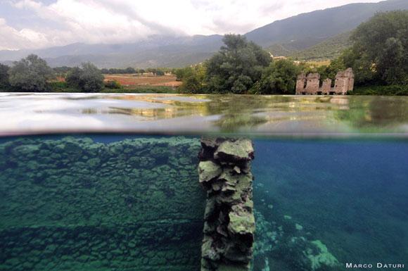 Immersioni al lago di Capodacqua articolo su Scubaportal, portale ...