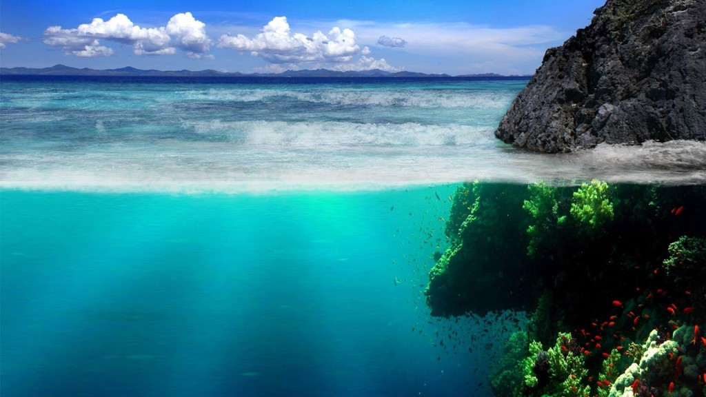 mare incontaminato