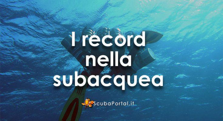 i-record-di-subacquea