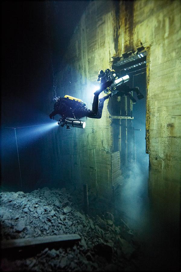 miniera di calce Ojamo in Finlandia
