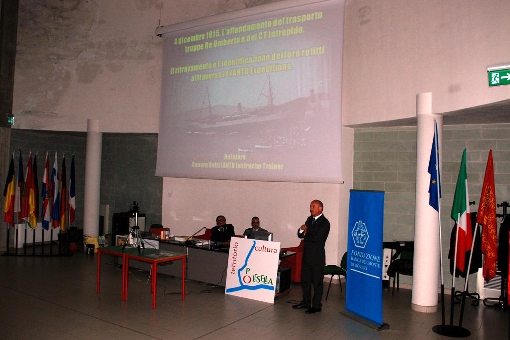 Cesare Balzi al Convegno di Rovigo