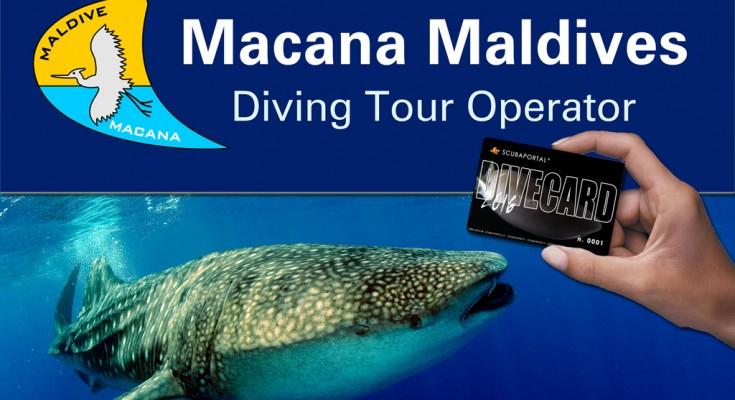 Macana Maldives tour operator speciale offerta Dive Card 2016