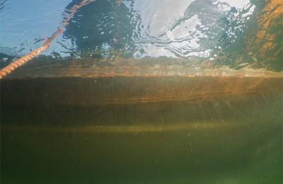 immersione sotto il ghiaccio