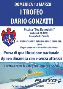 Iº Trofeo Dario Gonzatti @ Piscina Tea Benedetti, Genova | Genova | Liguria | Italia