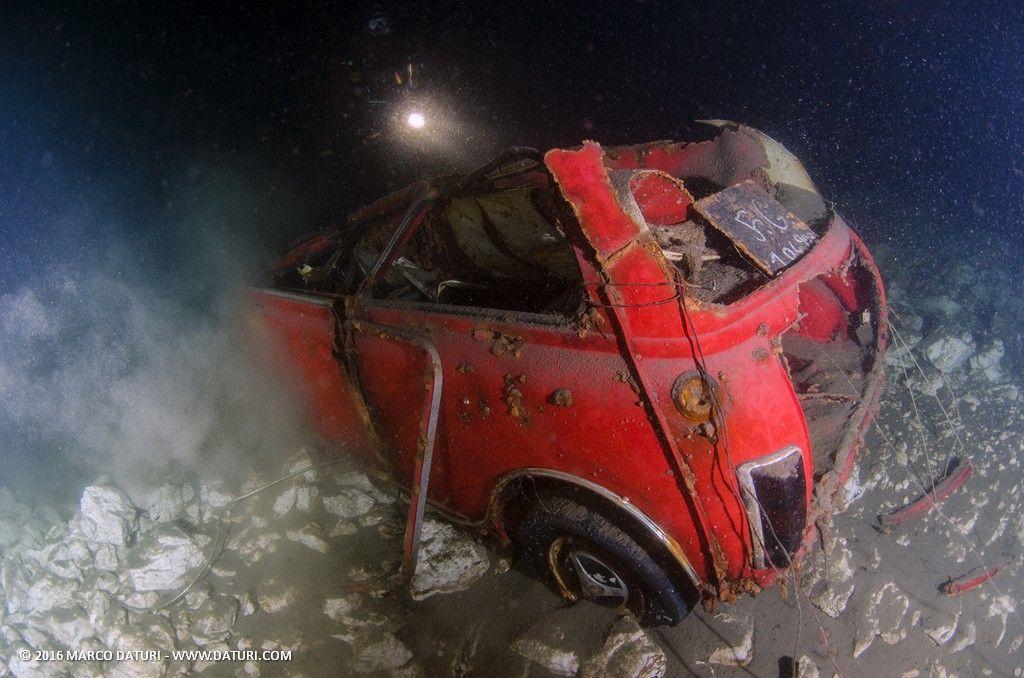 immersione alle macchine di Moregallo