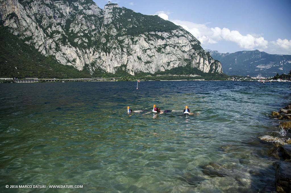 snorkeling al lago
