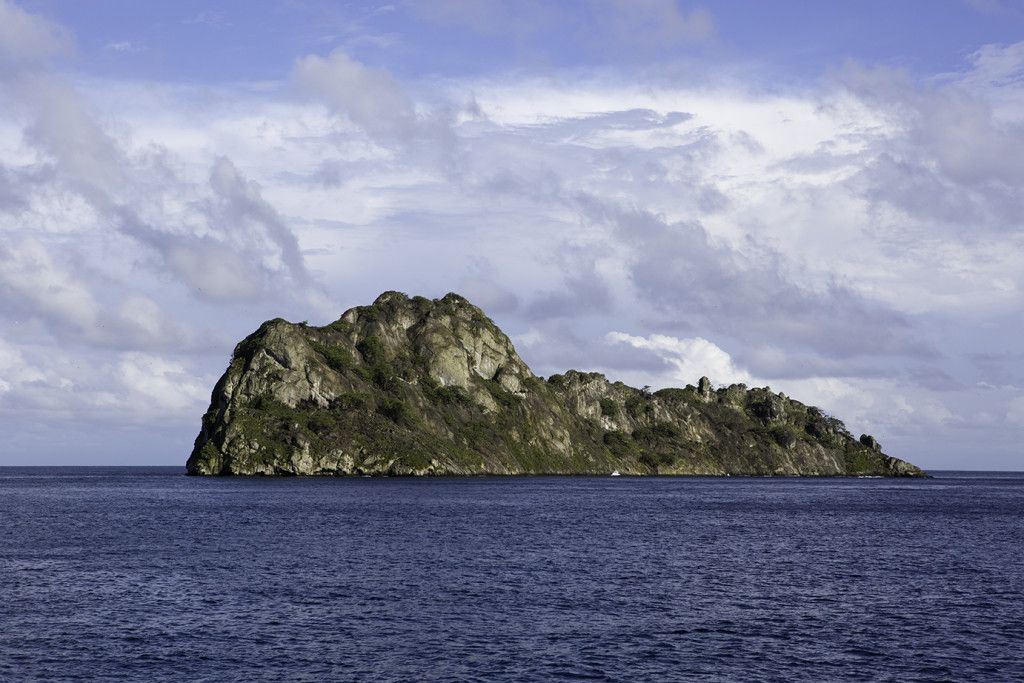 Manuelita Island, Chatham Bay, Cocos Island, National Park, Natural World Heritage Site, Costa Rica, East Pacific Ocean