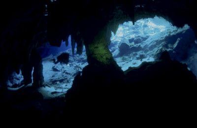 grotta sommersa