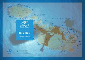 guida immersioni a Malta