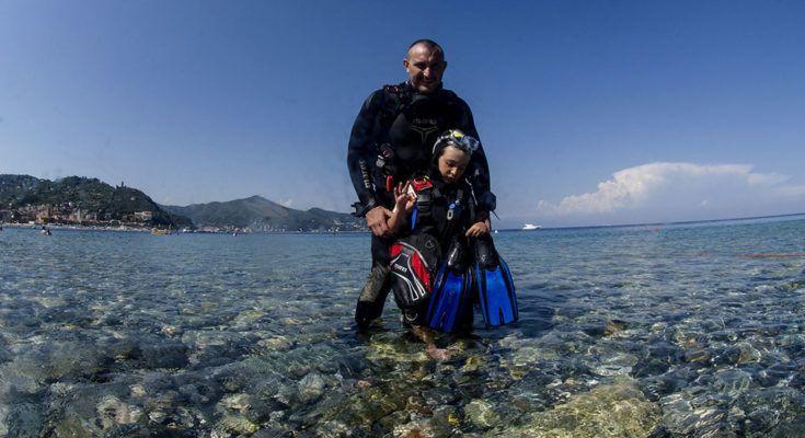 bambini-subacquea