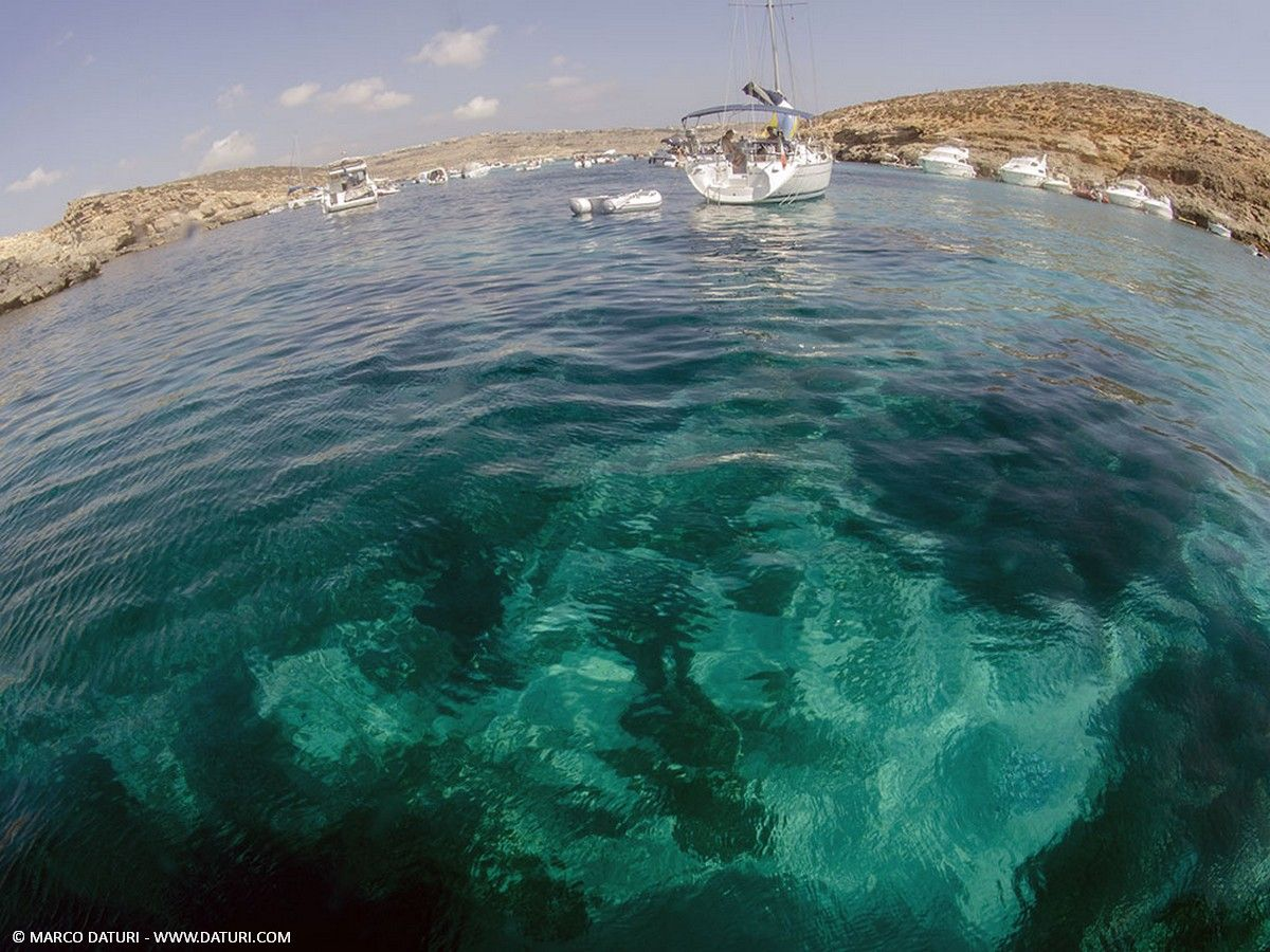snorkeling a comino
