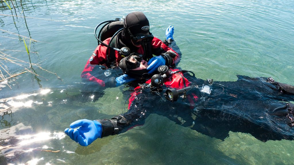 sicurezza in immersione