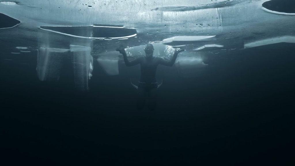 apnea sotto il ghiaccio