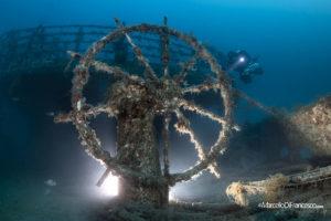 relitto dell'Admiral Ship Vis
