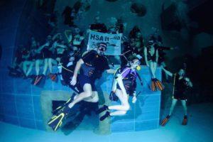 subacquea per le persone disabili