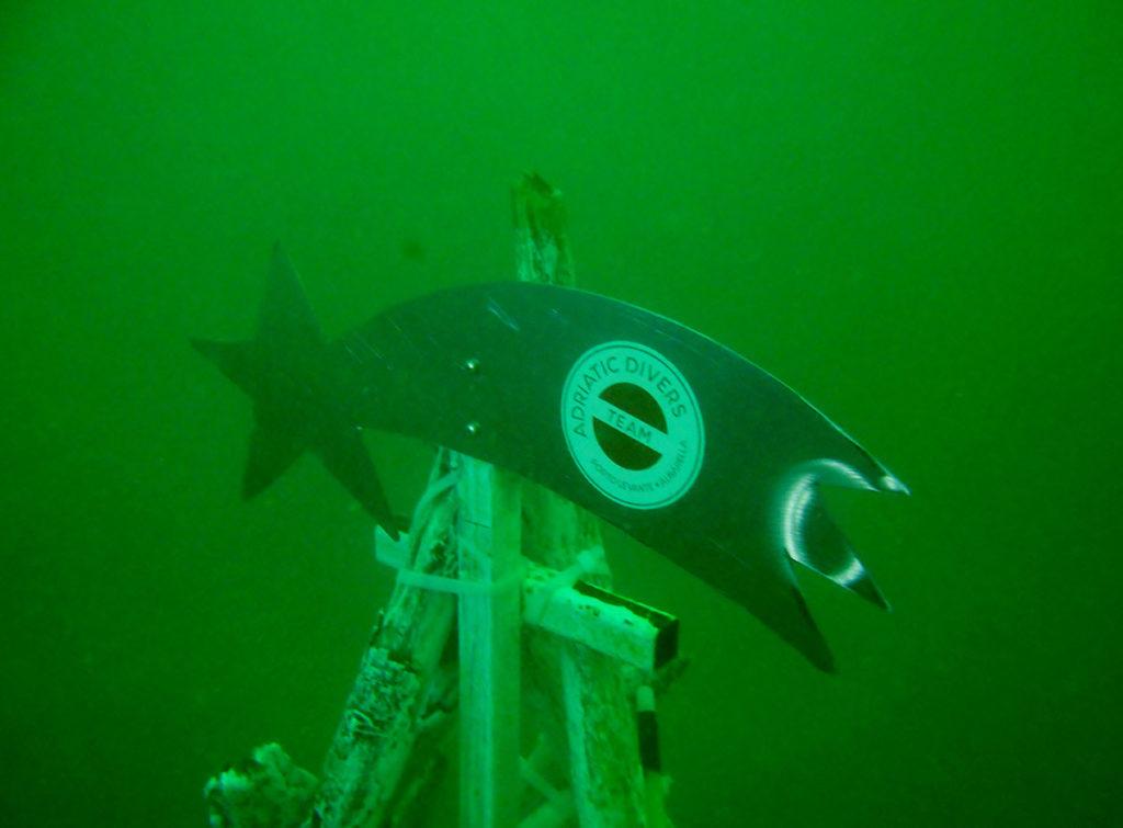 Albero di natale subacqueo