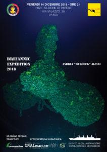 Conferenza sull'immersione al Britannic, 2018 @ Varese, sezione FIAS