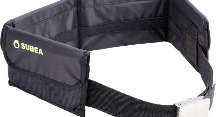 Cintura subacquea con tasche