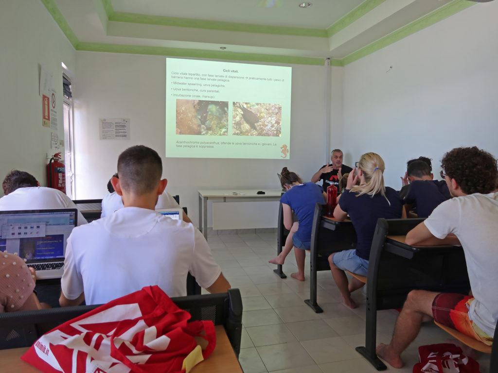 workshop sui pesci