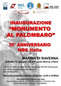 Inaugurazione Monumento al Palombaro @ Marina di Ravenna