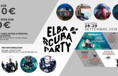 elba scuba party