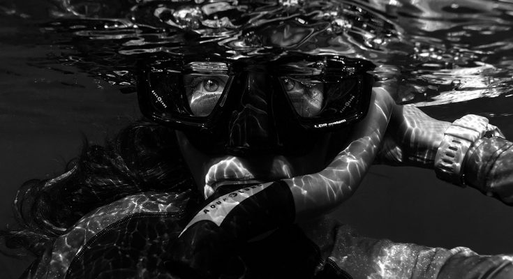 donne e subacquea