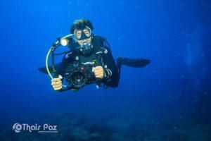 immergersi con un fotografo
