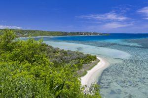 la costa ovest della Nuova Caledonia