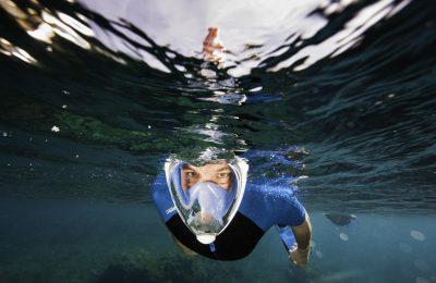 Maschera da snorkeling Tribord EASYBREATH