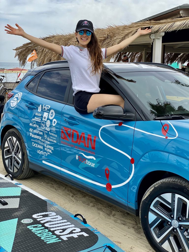 Aqua Lung partner del DAN Sustainable Tour