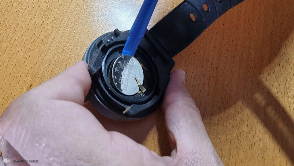 batteria computer sub suunto