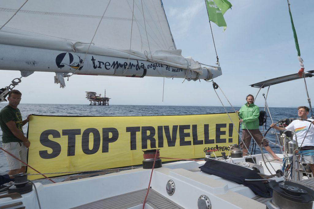 Stop Trivelle in Adriatico
