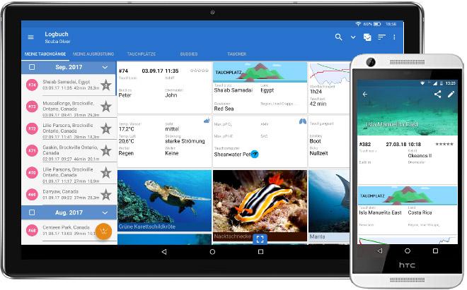 app di subacquea